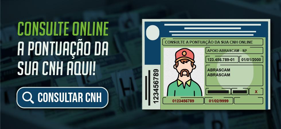 Consulte os Pontos da sua CNH Online gratuitamente.
